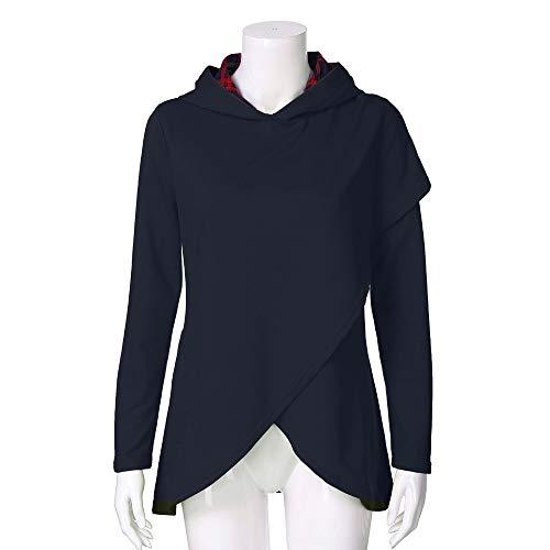 Kstare Mens Fashion Autumn Winter Casual Christmas Warm Hooded Sweatshirt Pullover Sweater Hoodie Tops
