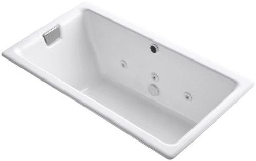 KOHLER K-856-H2-0 Tea-For-Two 5.5-Foot Whirlpool, ()