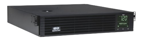 Tripp Lite 2200VA Smart UPS Back Up, Sine Wave, 1920W Line-Interactive, 2U Rackmount,  LCD, USB, DB9, 2 & 3 Year Warranties, $250,000 Insurance (SMART2200RM2U)