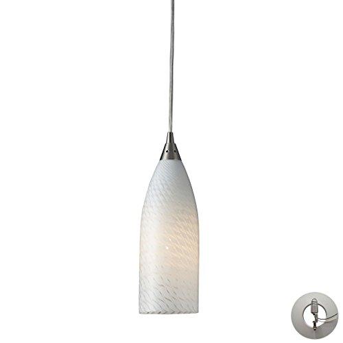 Alumbrada Collection Cilindro 1 Light Pendant In