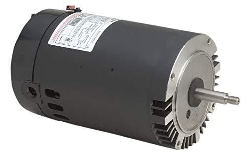 A.O. Smith B228SE 1 HP, 3450 RPM, 1 Speed, 230/115 Volts, 6.0/12.0 Amps, 1 Service Factor, 56J Frame, PSC, ODP Enclosure, C-Face Pool Motor