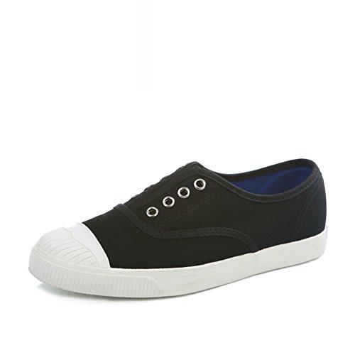 Plano Blancos Concha B Arte Lienzo Fondo Zapatos Transpirable Zapatos Con De resorte estudiantes Fino x7fqAdfw