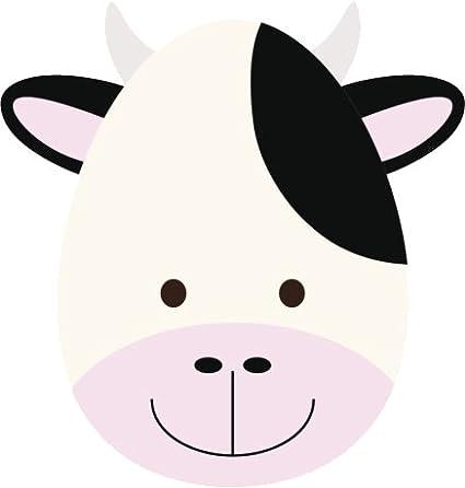 amazon com cute soft baby nursery animal cartoon faces vinyl decal