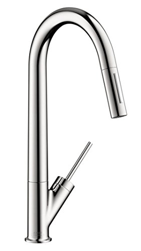 Hansgrohe 10821001 Starck HighArc Kitchen Faucet, Chrome (Hansgrohe Chrome Spray Faucet)
