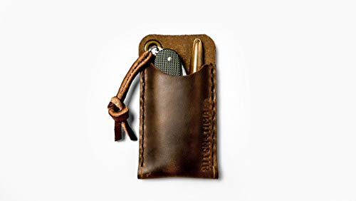 EDC Pocket Slip - Leather Sleeve for Everyday Carry by Hitch & Timber