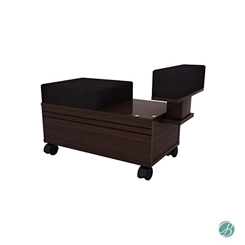Berkeley Pedicure Cart with Footrest Beauty Nail Salon Furniture