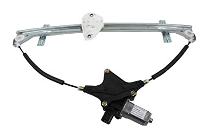 TYC 660126 Honda Odyssey Front Driver Side Replacement Power Window Regulator Assembly with Motor