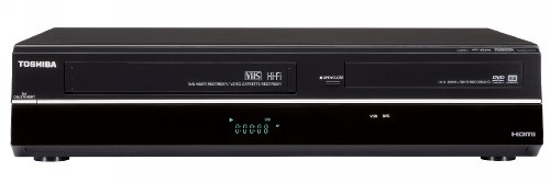 Toshiba DVR670/DVR670KU DVD/VHS Recorder with Built in Tuner, Black (2009 Model) (Atsc Digital Vcr)