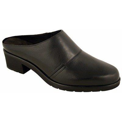 Walking Cradles Women's Caden Black Nappa Leather Clog/Mule