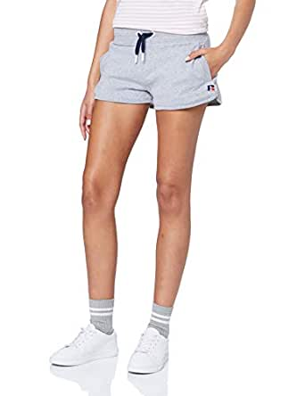 Russell Athletic Women's Terry Short, Ashen Marle, 10