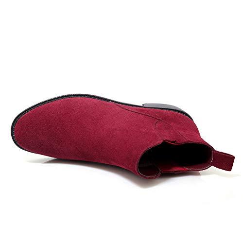 Sandales Bordeaux 36 Femme Abm13132 Compensées Rouge 5 Balamasa xfRqwzHz