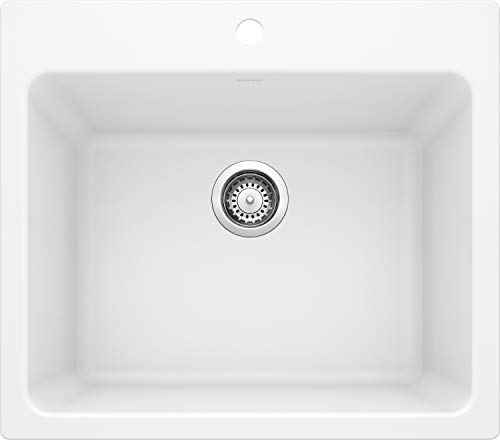 BLANCO 401927 LIVEN Drop-In or Undermount Laundry Sink, 25