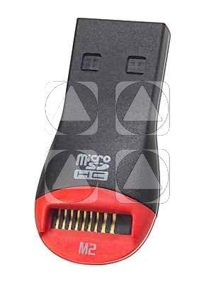 MICRO LETTORE SD SCRITTORE M2 MICROCARD SDHC USB 20
