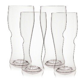 The govino Go Anywhere Classic Series Beer Glasses Flexible Shatterproof Recyclable, 16-ounce, Set of 4 3114