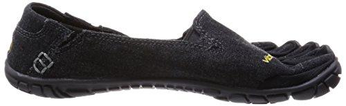 Black Femme 14w6204 Chaussures Hemp Lacets de CVT Desconocido Noir pour Ville à Casual 75wq4Wpv