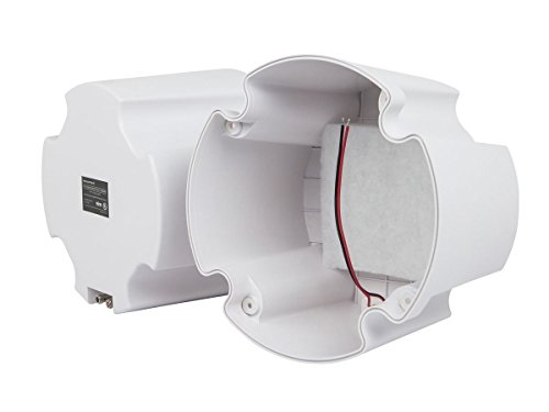 Monoprice ABS Back Enclosure (Pair) for PID 4104 8 in Ceiling Speaker by Monoprice