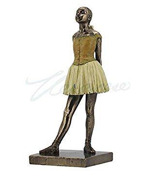 Degas ''Little Dancer'' Ballerina Statue (7.25'' Tall) by VERONESE