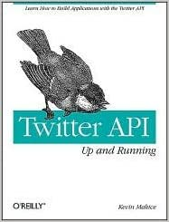 Book Twitter API 1st (first) edition Text Only