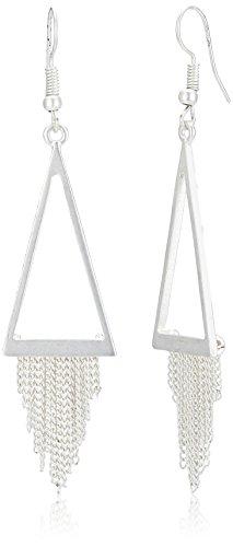 Funky Fish Drop Earrings for Women (Antique Silver) (I-642_D7297473289145)