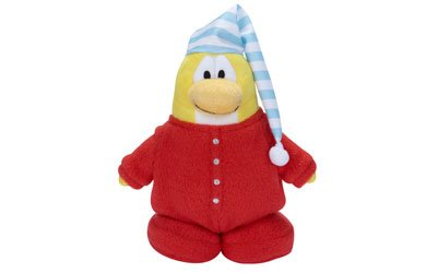 Disney Club Penguin Penguin Series 5 - Red Pajama with Coin by Club Penguin