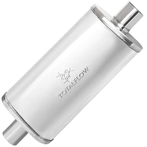 TOTALFLOW 44249 Straight Through Deep Tone Performance Muffler - 18