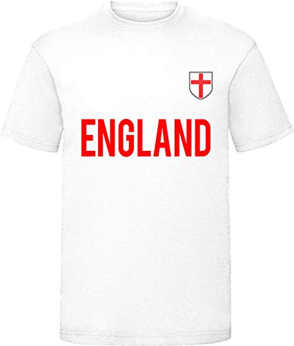 Niños Inglaterra Copa Europea Nacional fútbol camiseta niños/niñas Footy Tee Top