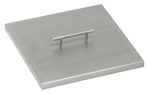 American Fireglass CV-SQP-12 Stainless Steel Cover For 12...