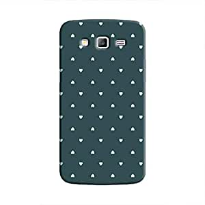 Cover It Up - Tiny Green Hearts Galaxy Grand PrimeHard Case