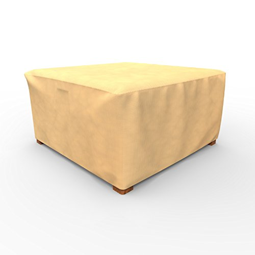 EmpirePatio X-Large Ottoman Covers 36 in Wide - Nutmeg by EmpireCovers