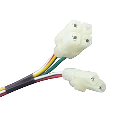 CDI CABLE WIRE HARNESS PLUG GY6 4 Stroke 50cc 150cc SCOOTER MOPED ATV GO KART: Automotive