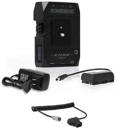 Core SWX PowerBase Edge 14.8V 49Wh Battery for Blackmagic Design Pocket 4K & 6K Cinema Camera Coiled D-Tap to 2-Pin Cable for Blackmagic Pocket 4K Camera