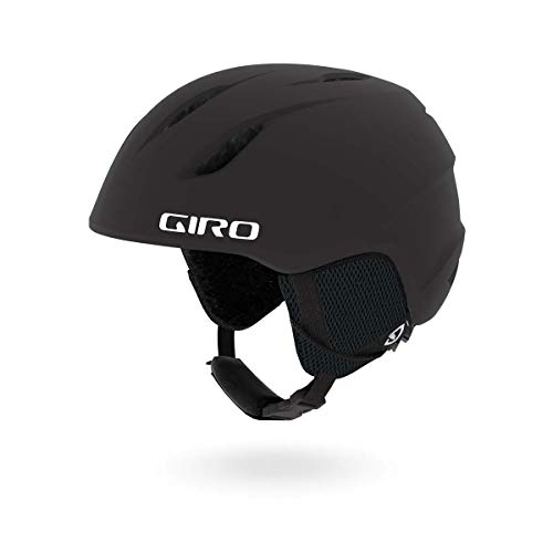 Giro Launch Kids Snow Helmet Matte Black SM 52-55.5cm