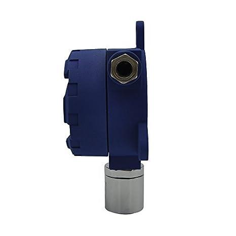 Fijo nivel Gas H2S transmisores para Industrial, de detección de fugas de gas industrial tóxicos y perjudiciales alerta detector de gas, rango de medición 0 ...