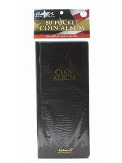 Harris 80 Pocket Coin Stock Book Album for 2×2 Holders