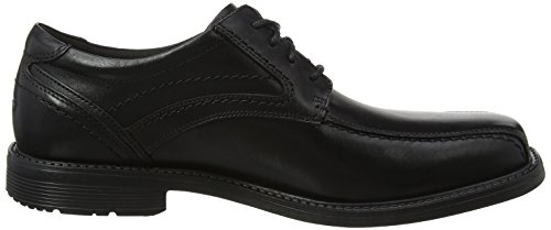 Toe Style Black Schwarz Rockport 2 Derbys Oxford Leader Bike Herren Black wX51vqA5c