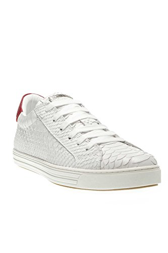 Dsquared Herren Schuhe Sneaker Tennis Club W17SN103 446, Farbe: Rot, Größe: 44