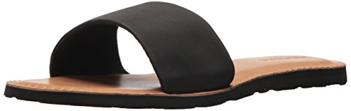 Simple Volcom Black Slide Noir Sndl 8SdCRWn