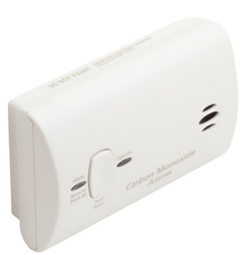 Kidde 9CO5-LP2 Carbon Monoxide Alarm, Battery Operated (Operated Carbon Battery Kidde)