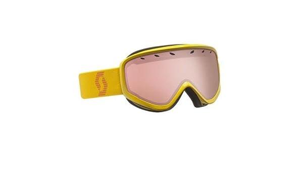 20b2a26db86 Amazon.com   Scott Womens Mia Amplifier Winter Snow Goggles - 224603  (Chrome Yellow - Amplifier)   Sports   Outdoors