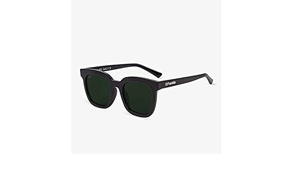 D Franklin 993 Gafas de sol Negro 50 Unisex
