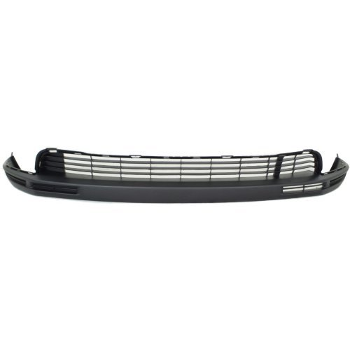 Front Bumper Cover Compatible with Toyota Highlander 2014-2016 Lower Textured Black CAPA
