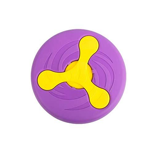 FirePB Pet Toy Creative Pet Toy Pet Throw Training Wrestling Resistance Silicone 23.5x2.8cm Purple
