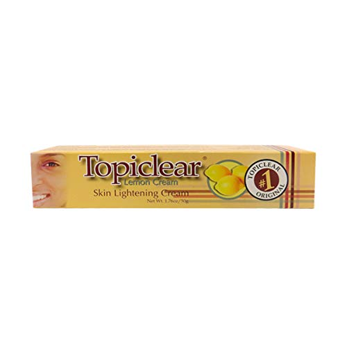 (Topiclear Lemon Cream - Skin Lightening Cream 1.76 oz / 50g)
