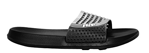 Toe Footwear Casual Mules EVA Open amp;H UK 6 Sandals Mens Flip Shoes Black 11 A Grey Beach Sliders Flops Summer Lightweight On Sizes Pool Slip Znw885qp