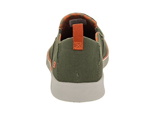 Skechers USA Mens Boyar Lented Slip-On Loafer Olive