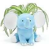 Buddy The Elephant Blue Planter Adorable Baby Nursery Decor