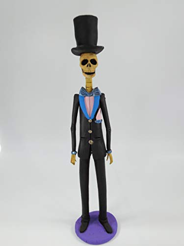 GROOM CATRINA male guy in suit, handmade clay sculpture, mexican day of the dead 12