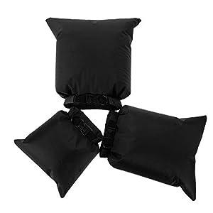 Lixada Waterproof Dry Bags, 3 Pack Ultimate Dry Sack – 3L+5L+8L Lightweight, Roll Top Outdoor Dry Sacks for Kayaking…