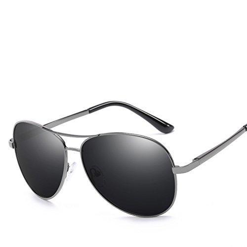 de Lentes Hombre ECHO Gafas de A de Color Gafas Marco Metal fotocromáticas Sol Sol Dorado Retro polarizadas 0HgECqgx