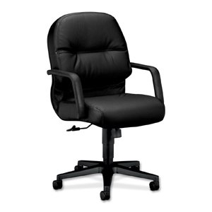 - HON2092SR11T - HON Pillow-Soft 2092 Managerial Mid Back Chair